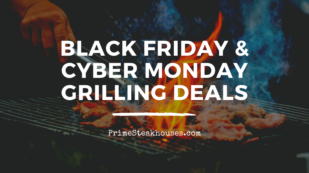 black friday grills and smokers