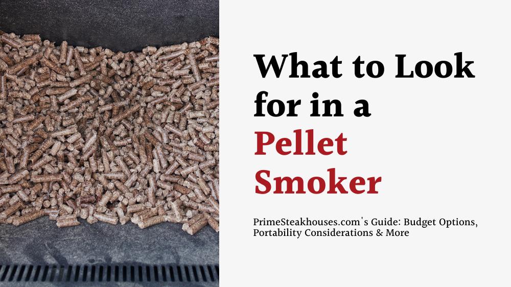 finding a good pellet smoker
